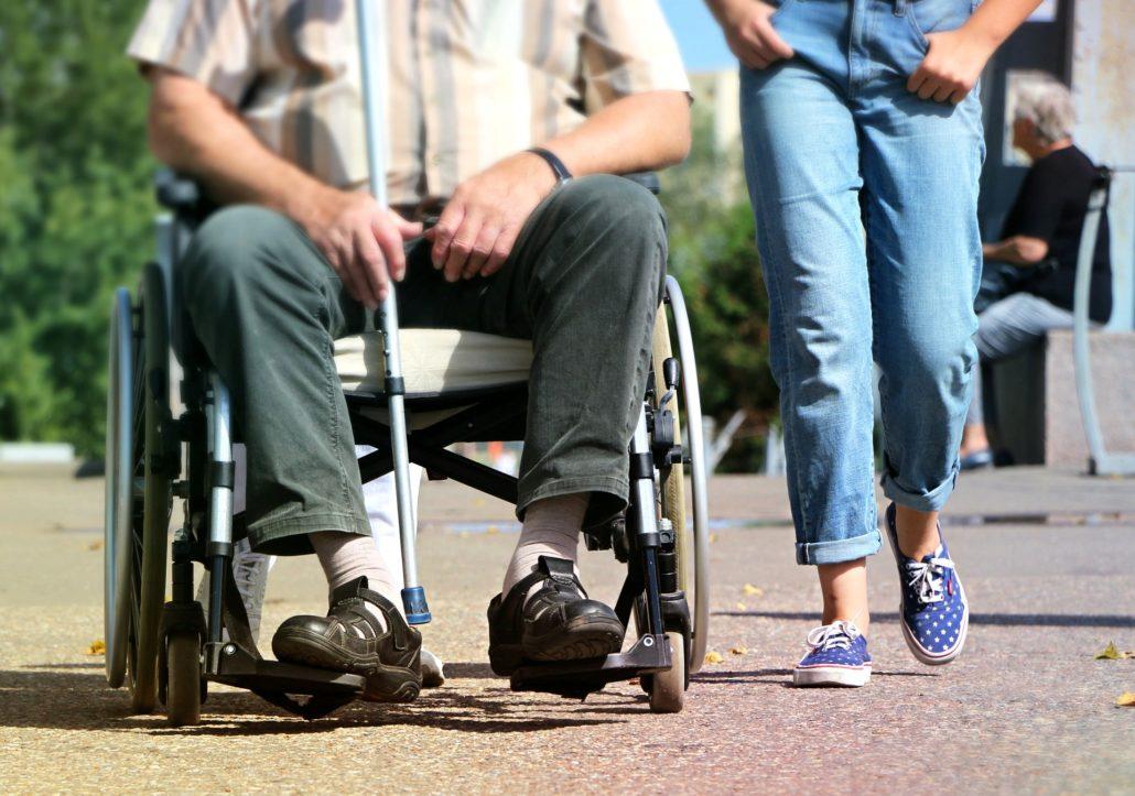 Rollstuhl - Selbsterfahrung im Unterricht
