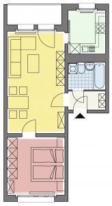 2 Raum Wohnung Thalheim
